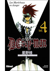 MANGA D-GRAY MAN TOME 4