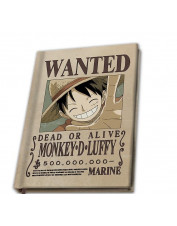 NOTEBOOK ONE PIECE WANTED...