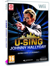 WII U-SING JOHNNY HALLYDAY