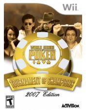 WII WORLD SERIES OF POKER 2007