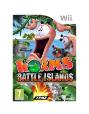 WII WORMS BATTLE ISLANDS