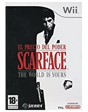 WII SCARFACE THE WORLD IS...