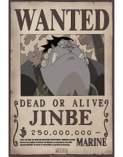 POSTER WANTED JINBE
